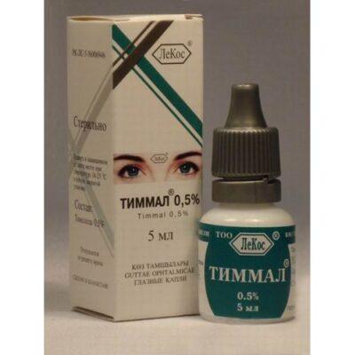 Timman 0.5% 5 ml of eye drops