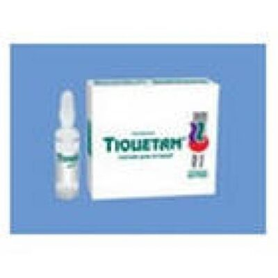 Tiocetam 10s 10 ml solution for injection in ampoules
