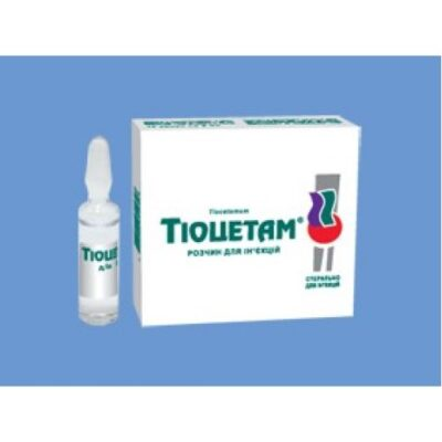 Tiocetam 10s 5 ml solution for injection in ampoules