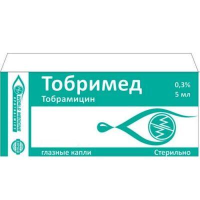 Tobrimed 5 ml of 0.3% eyedrops