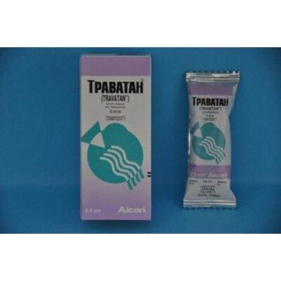 Travatan 40 ug / ml 2.5 ml of eye drops