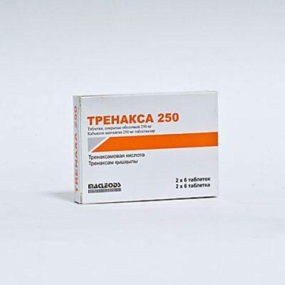 Trenaksa 12s 250 mg coated tablets