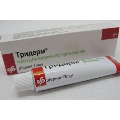 Triderm 15g ointment tube