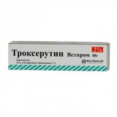 Troxerutin 2% gel in 40g tube