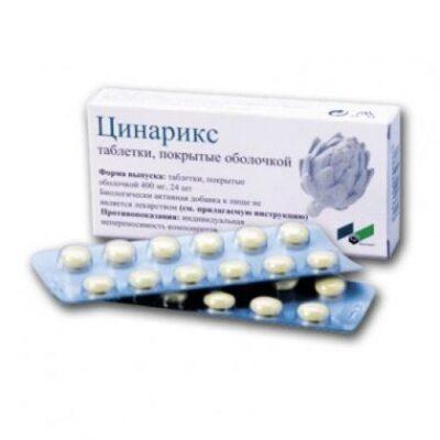 Tsinariks 24's coated tablets