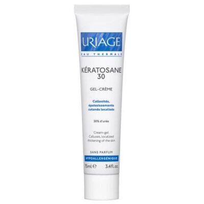Uriage Keratozan 30 cream-gel. Against corns and local thickening of the skin 75 ml
