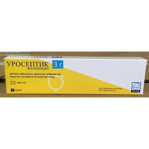 Uroseptiki 3g 1's granules for oral solution