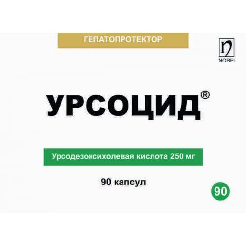 Ursotsid 90s 250 mg capsule