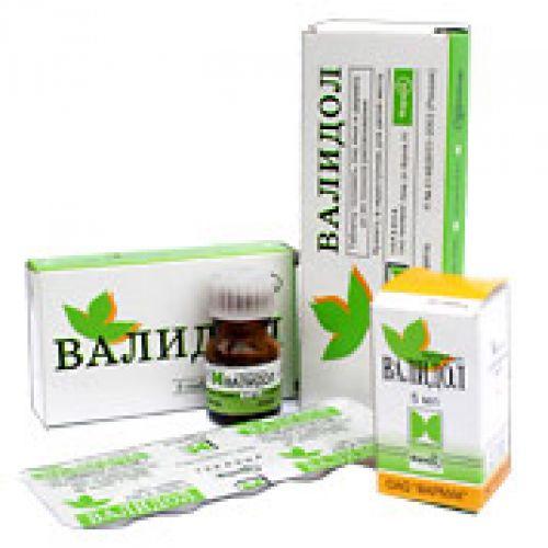 Validol 60 mg sublingual (10 tablets)