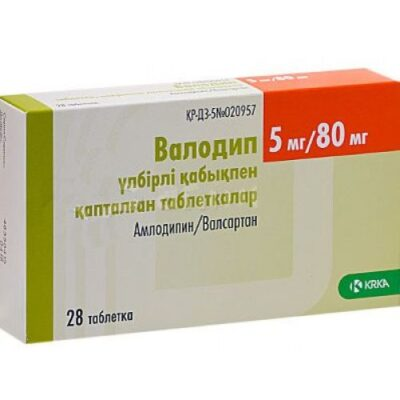 Valodip 5 mg / 80 mg 28's film-coated tablets