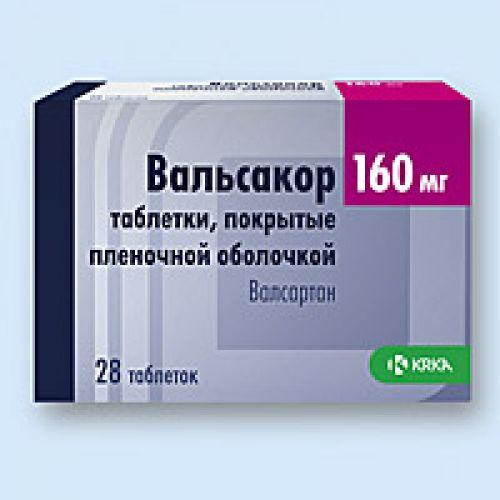 Valsakor® 28's 160 mg film-coated tablets
