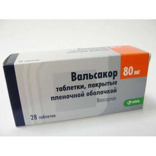 Valsakor® 28's 80 mg film-coated tablets