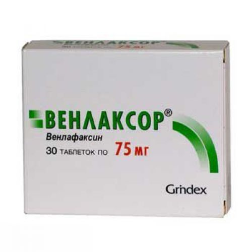 Venlaksor 75 mg (30 tablets)