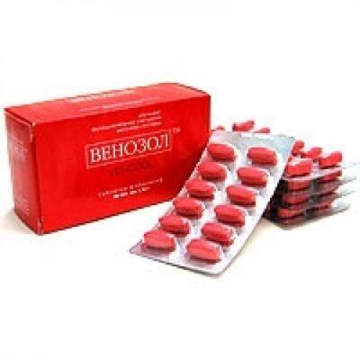 Venozol 0.5g (36 capsules)