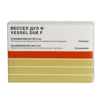 Vessel Due F LE 600 10s solution for injection in ampoules