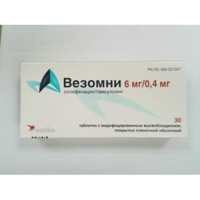 Vezomni 6 mg / 0.4 mg 30s modified release tablets