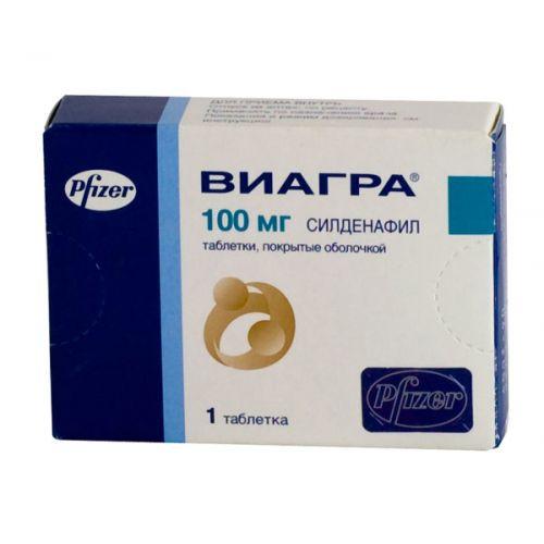 Viagra 100 mg (1 tablet)
