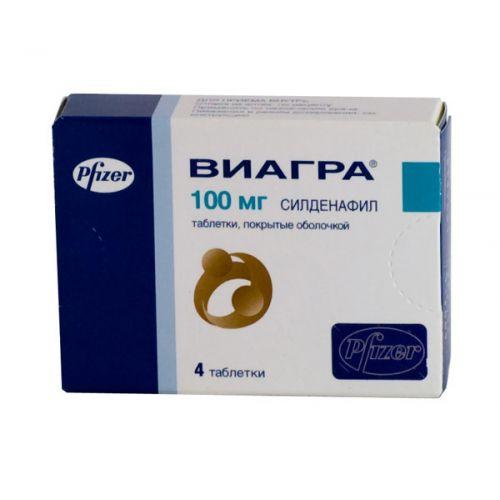 Viagra 100 mg tablets 4's