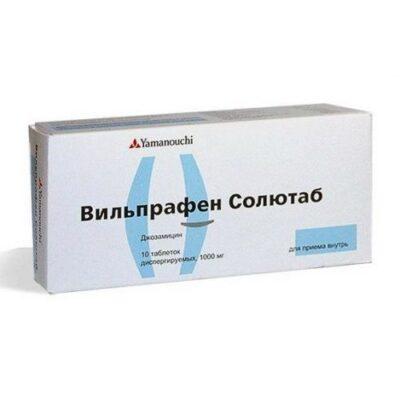 Vilprafen Soljutab 1000 mg 10s dispersing tablets