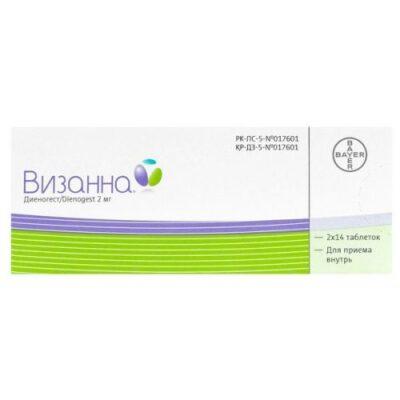 Visan 2 mg (28 tablets)