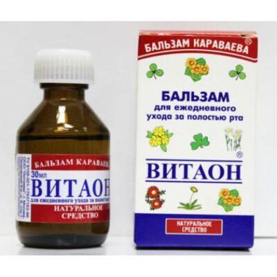 Vitaon (Karavayeva Balm) 30 ml of balm for oral