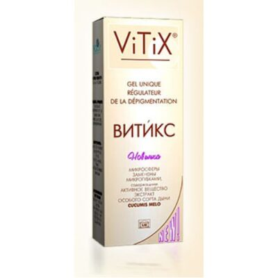Vitiks 50 ml of gel into a tube