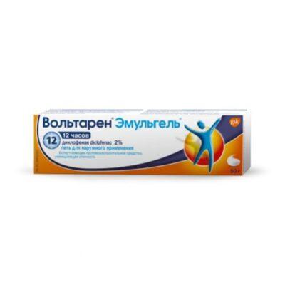 Voltaren Emulgel 50g of 2% gel for topical application