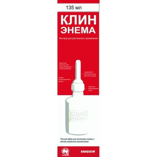 Wedge Enem 135 ml solution for rectal application