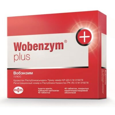 Wobenzym plus (40 coated tablets)