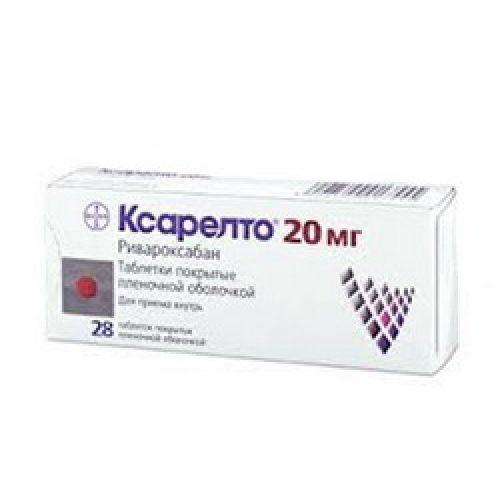 Xarelto ® 28's 20 mg film-coated tablets