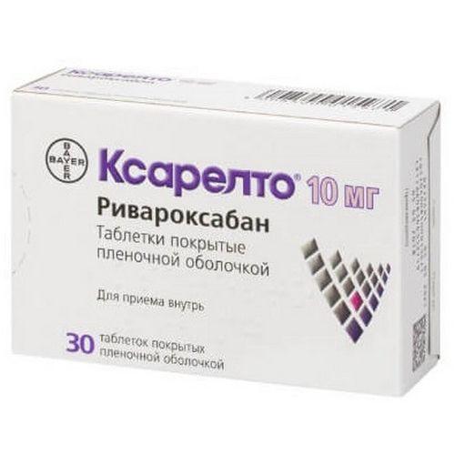 Xarelto ® 30s 10 mg film-coated tablets