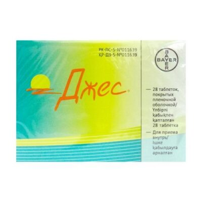 Yaz® (Jes) 28 film-coated tablets