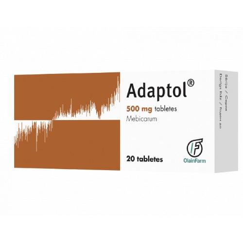 Adaptol® (Adaptolum, Mebicarum) 500 mg (20 tablets)